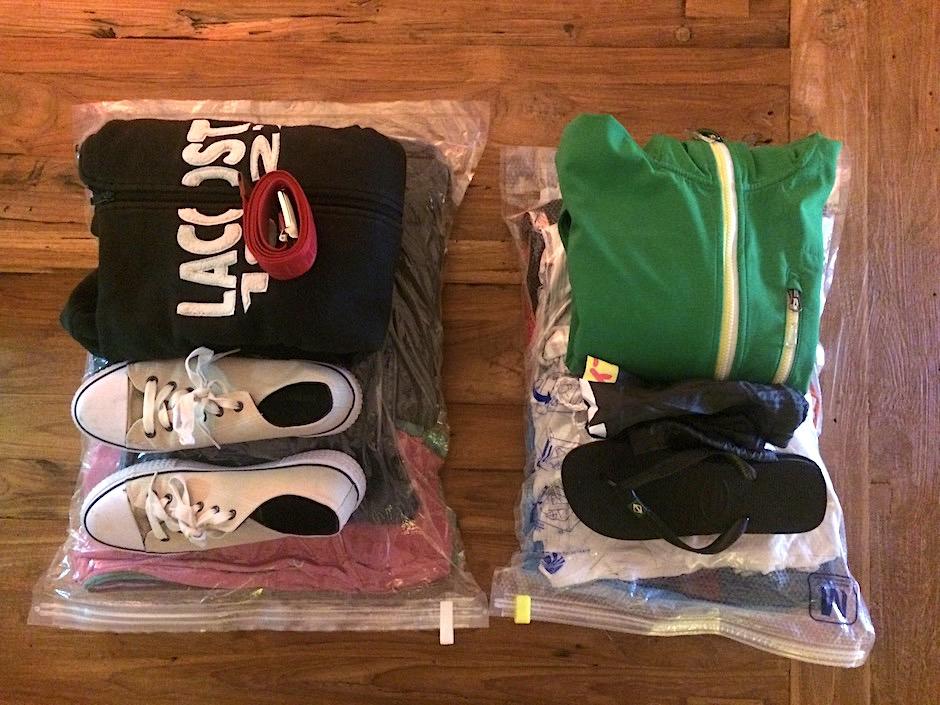 Packliste Kleider