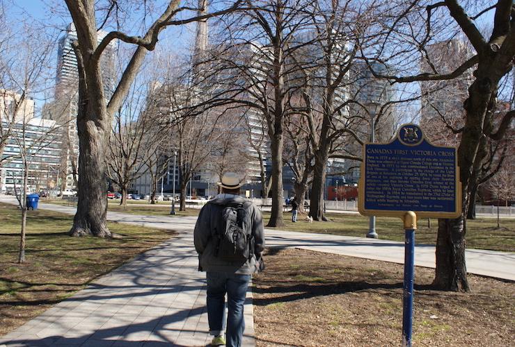 Toronto: Canada's first Victoria Cross