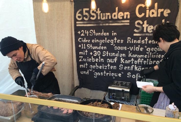 Street Food Festival Karlsruhe: Cidre Steak