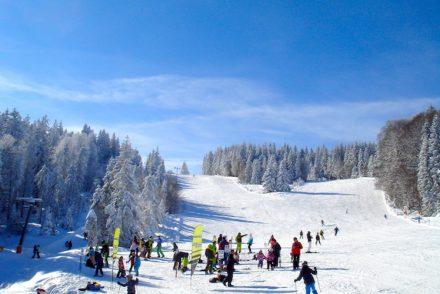 Ski fahren: Schauinsland/Schwarzwald/Haldenköpfle