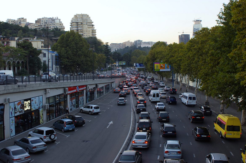 Tiflis/Tbilisi: Rush Hour