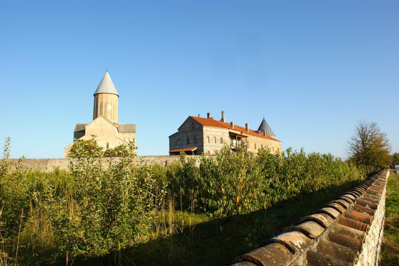 Blick auf die Georgskirche Alawerdi