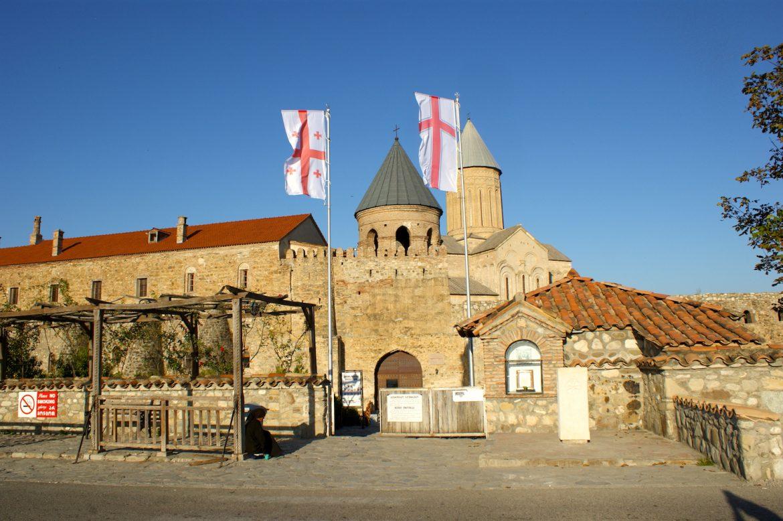 Georgskirche Alawerdi: Eingang