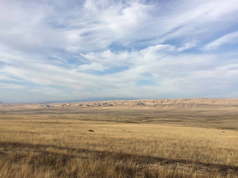 Landschaft zwischen Udabno und Dawit Garedscha