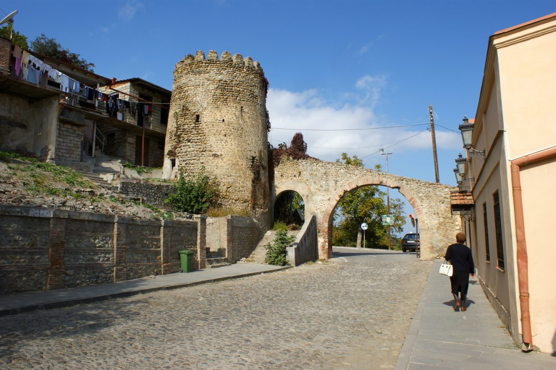 Sighnaghi - Tor innere Stadtmauer