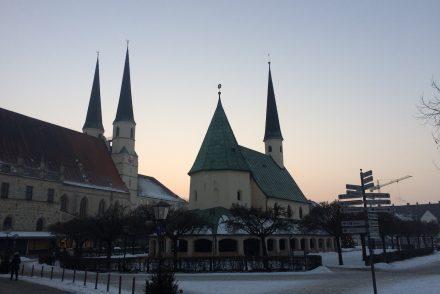 Altötting: Gnadenkapelle und gotische Stiftspfarrkirche