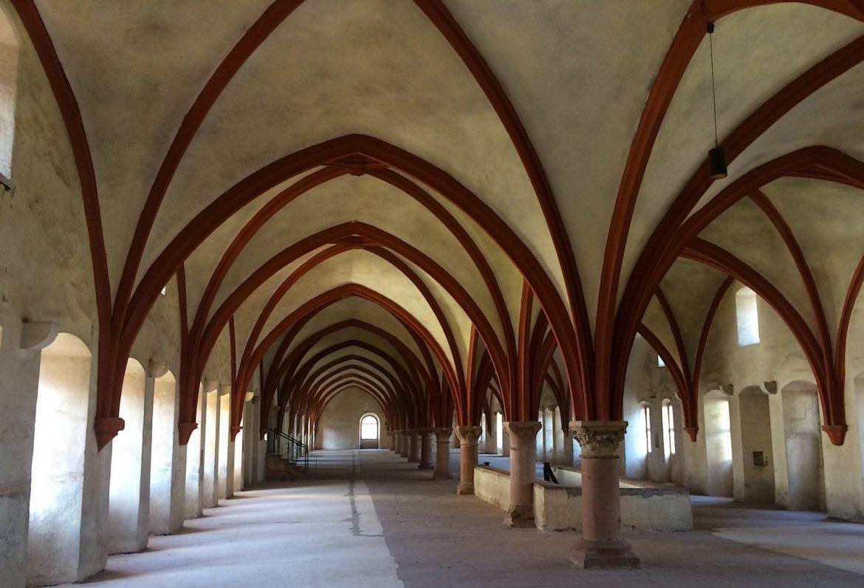 Kloster Eberbach: Laiendormitorium (Schlafsaal der Laienbrüder)