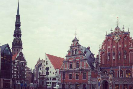 Riga: Schwarzhäupterhaus