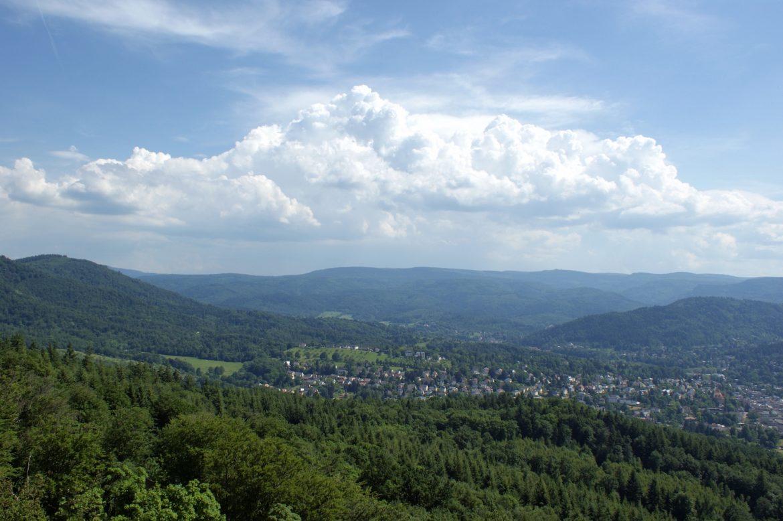 Blick über Baden-Baden & den Schwarzwald