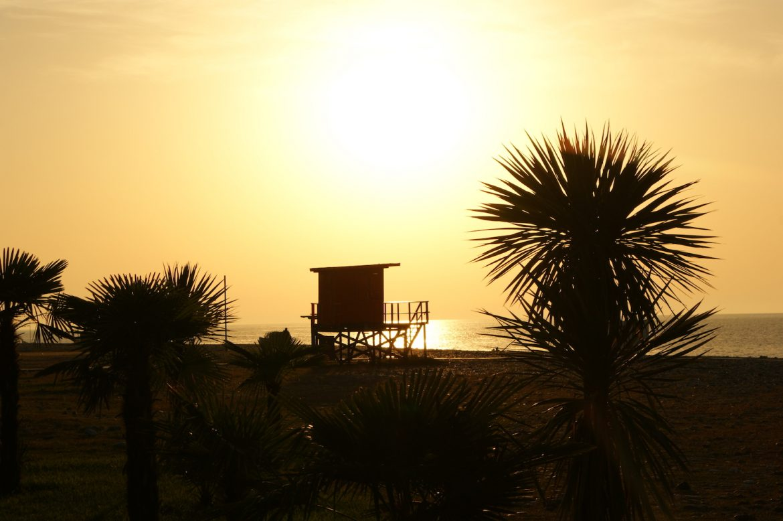 Batumi: Strand und Baywatch-Feeling