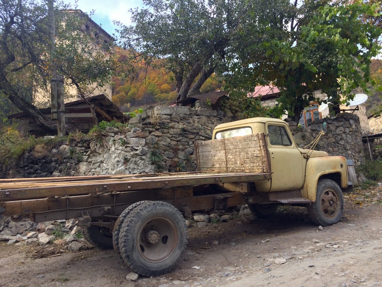 Mestia: Old Truck