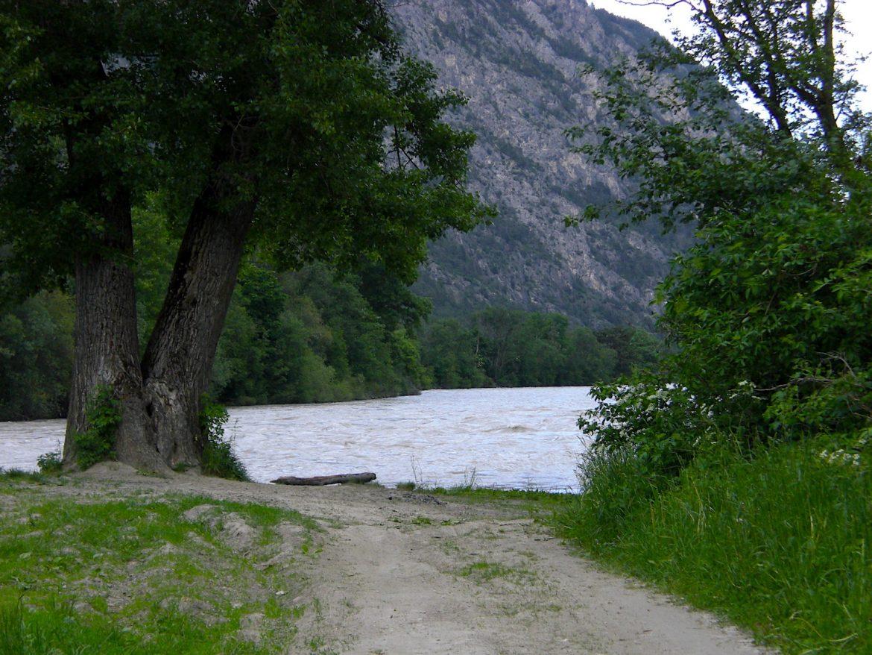 Haiming Tirol Ötztal Ufer Inn