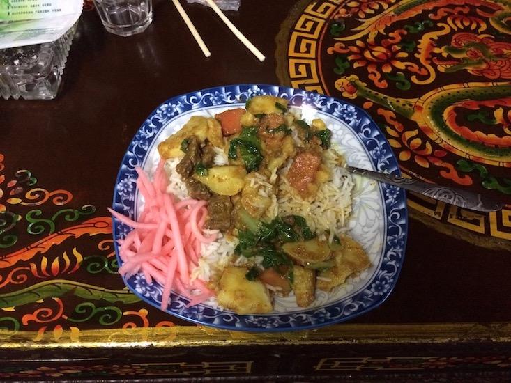 Tibet Essen Reis