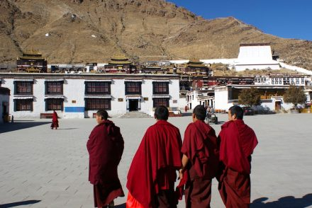 Tibet: Monks in Shigatse