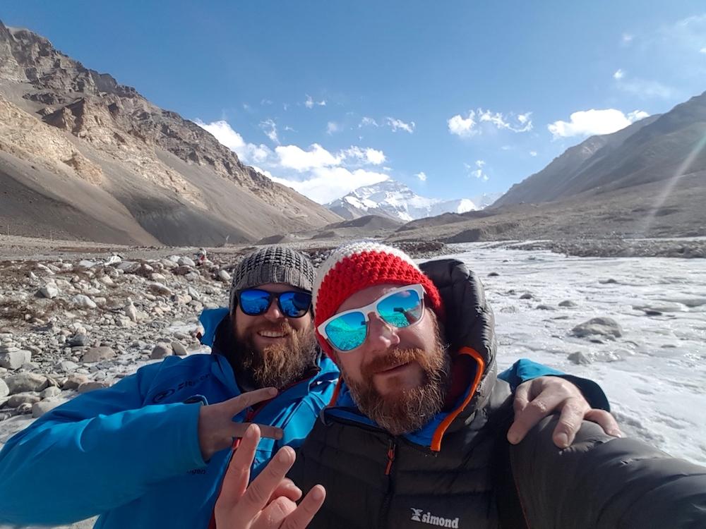 Mount Everest - Sascha und Jean Mathieu