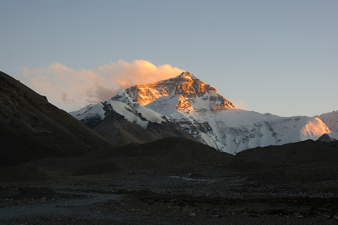 Mount Everest - Sunset
