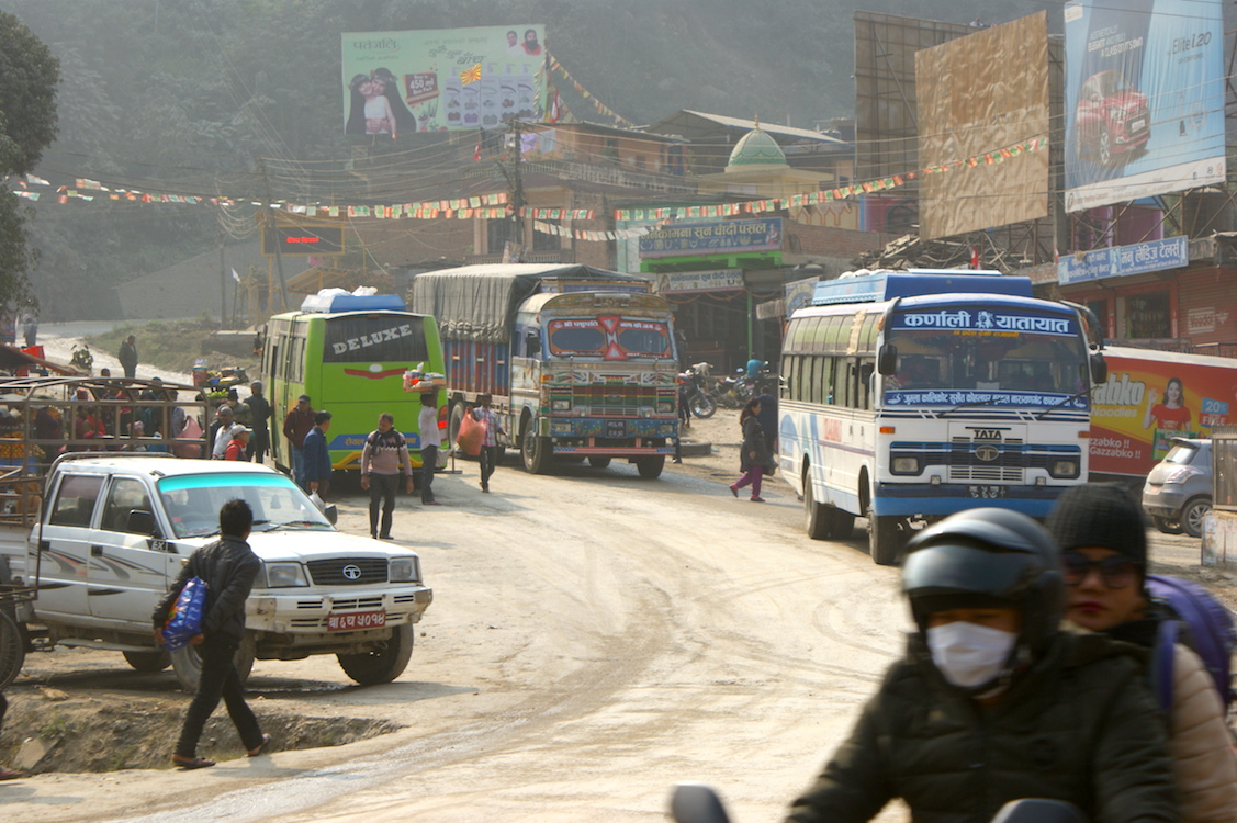 Nepal Verkehr