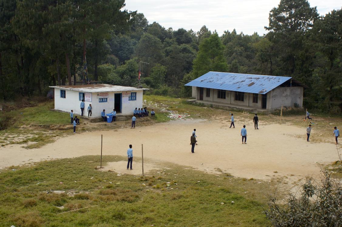 Nepal School Football