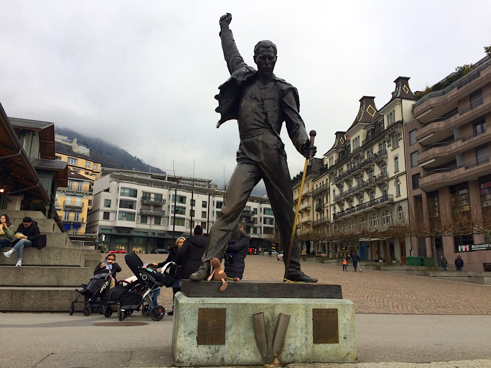 Genfer-See / LacLeman: Freddie Mercury