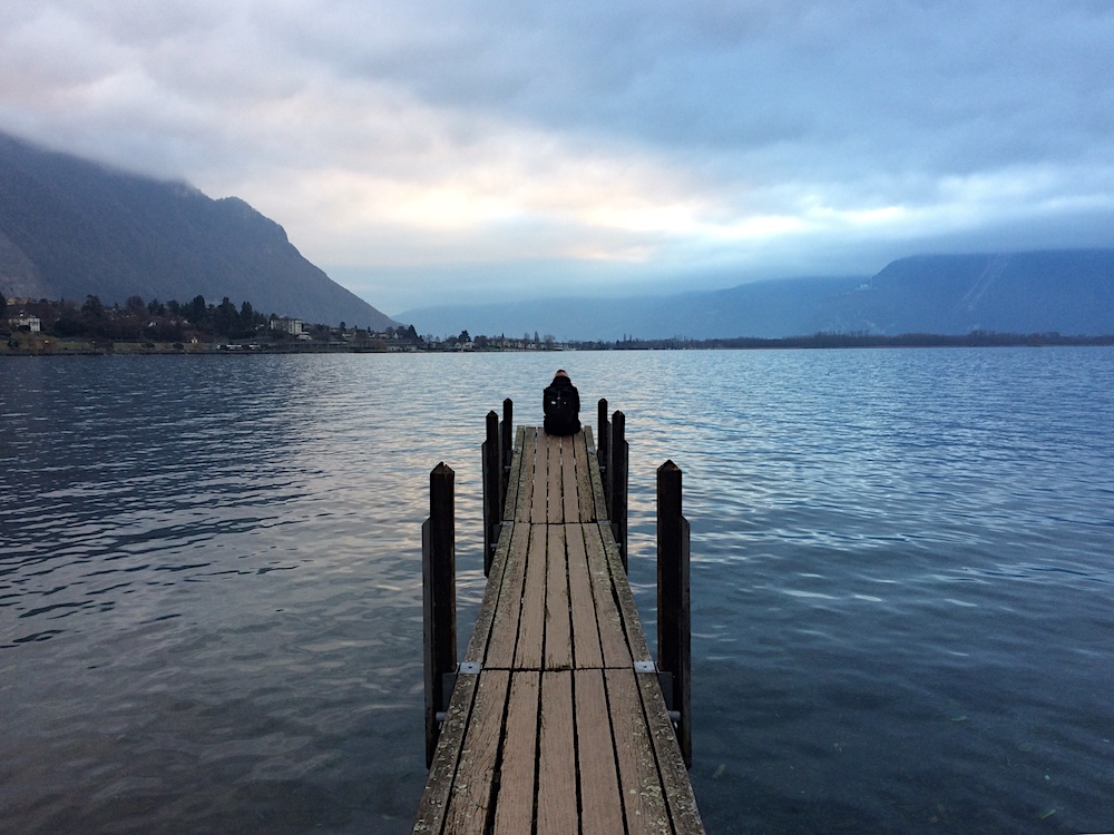 Genfer See / Lac Leman: Lonely Girl