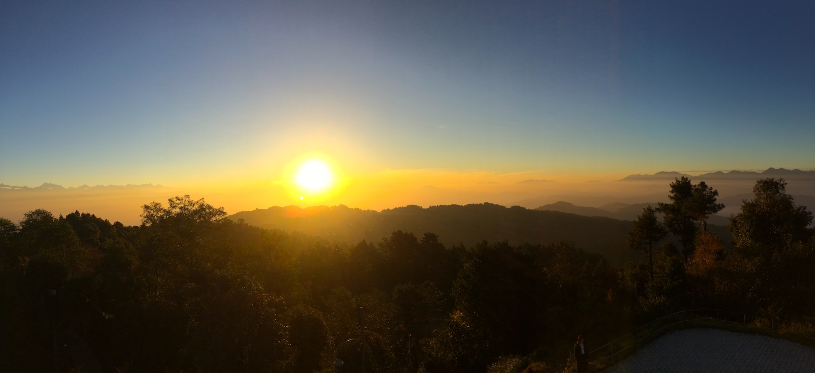 Nagarkot Tower Sunrise