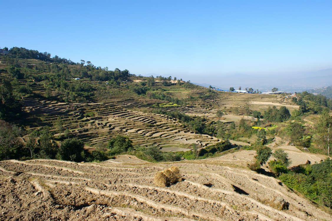 Kathmandu Valley Terrassen