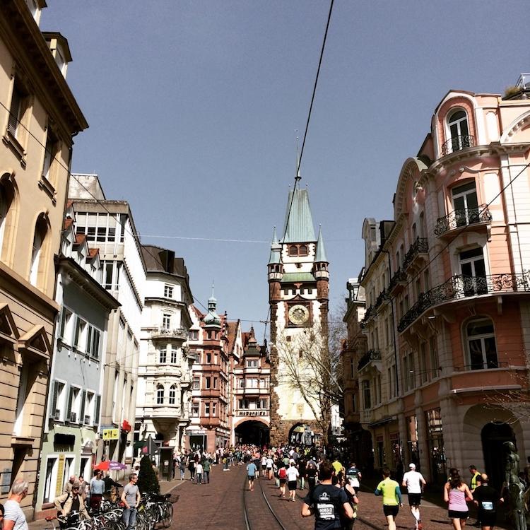 Freiburg Marathon - Martinstor