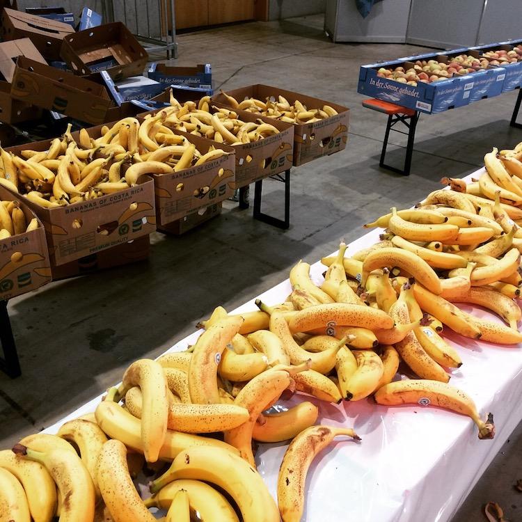 Freiburg Marathon - Bananen