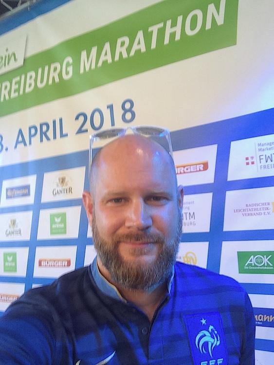 Freiburg Marathon Jean Mathieu