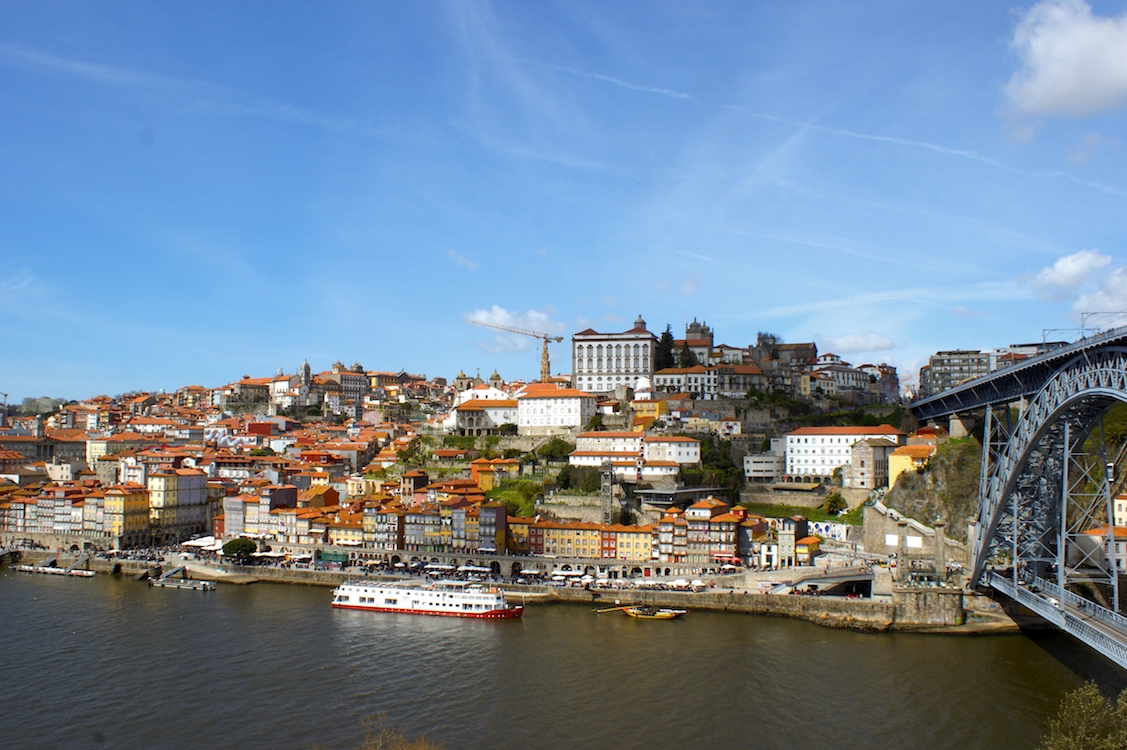 Ponte Dom Luís I (Porto in Portugal)