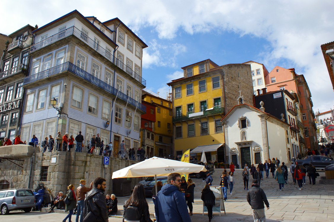 Ribeira (Porto in Portugal)