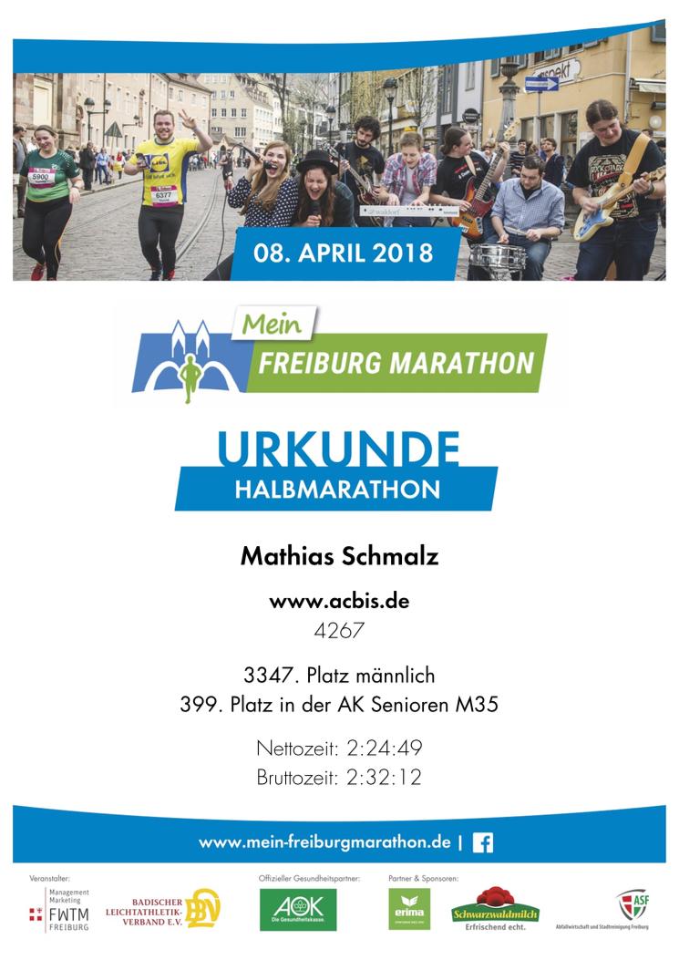 ergebnisse freiburg halbmarathon 2017