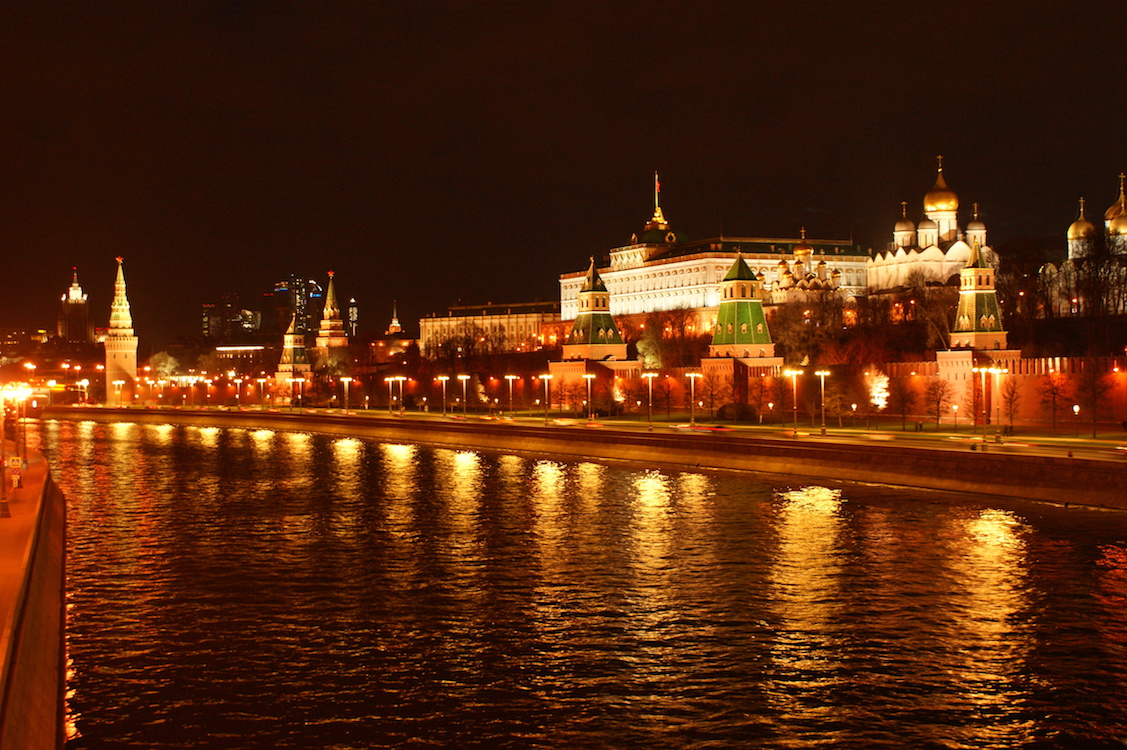 Moscow by Night - Kremlin