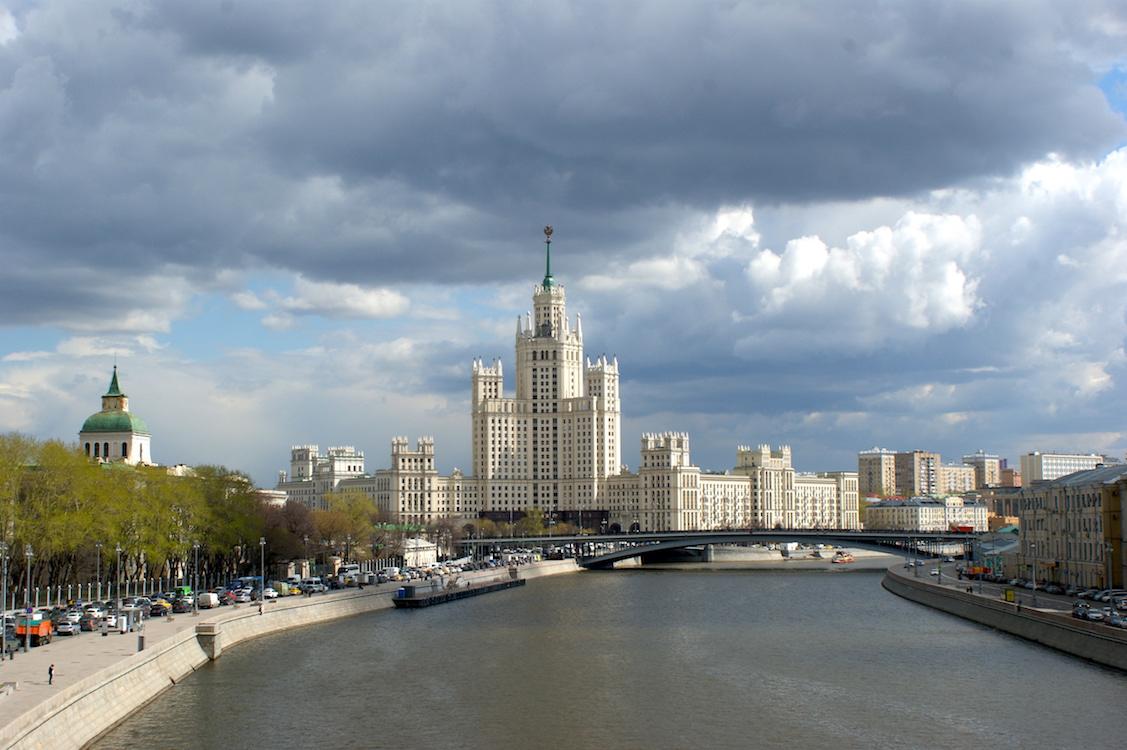 Moskau Stalins Kathedrale