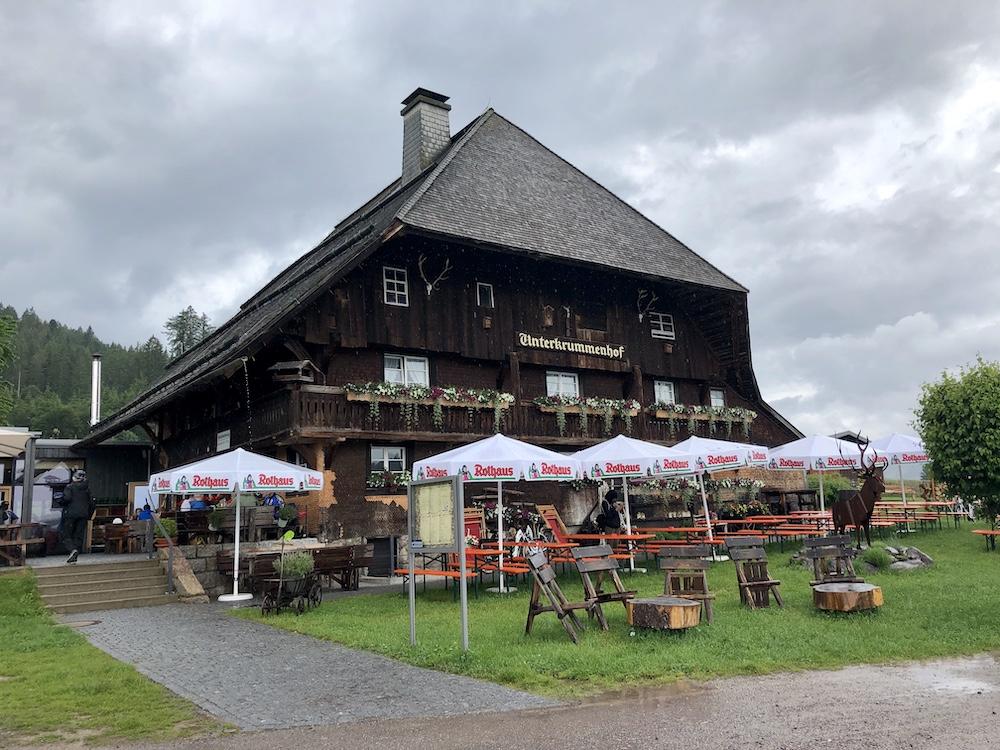 Schluchsee (Black Forest): Vesperstube Unterkrummenhof