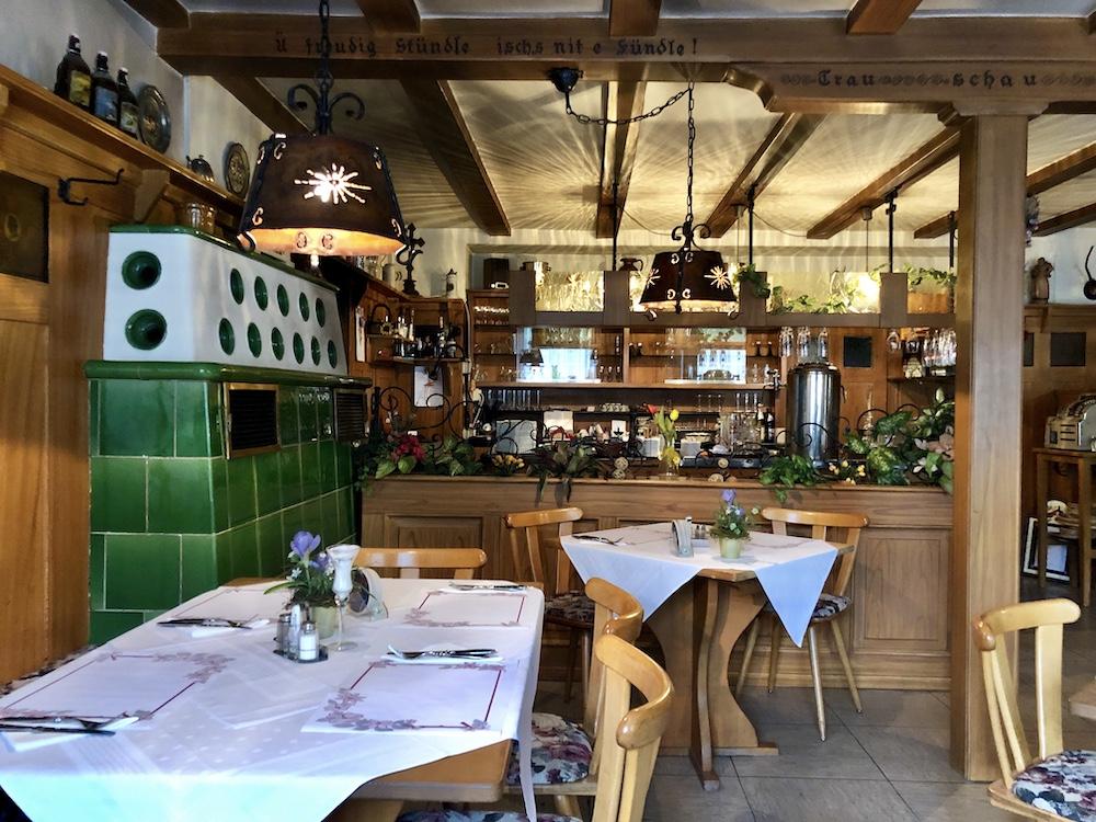 Restaurant Alter Hirschen in St. Blasien